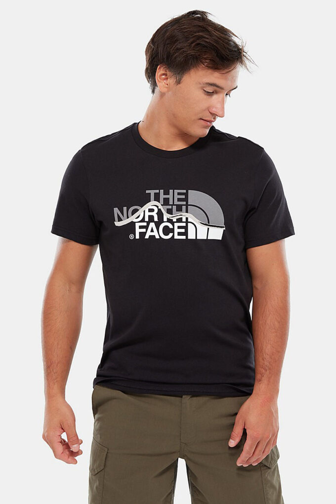 Camiseta de la marca The North Face Negro