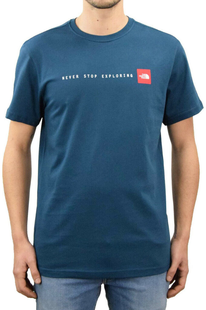 Camiseta de la marca The North Face Azul