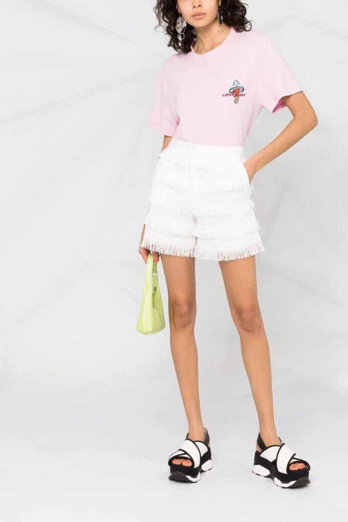 Pantalón Corto de la marca Love Moschino Blanco
