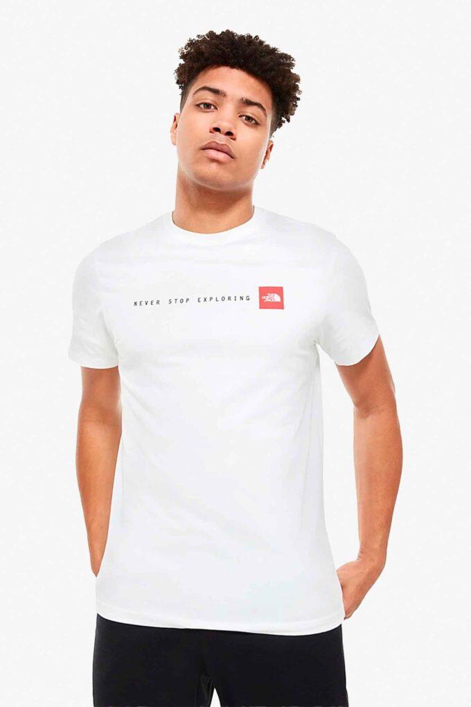 Camiseta de la marca The North Face Blanco