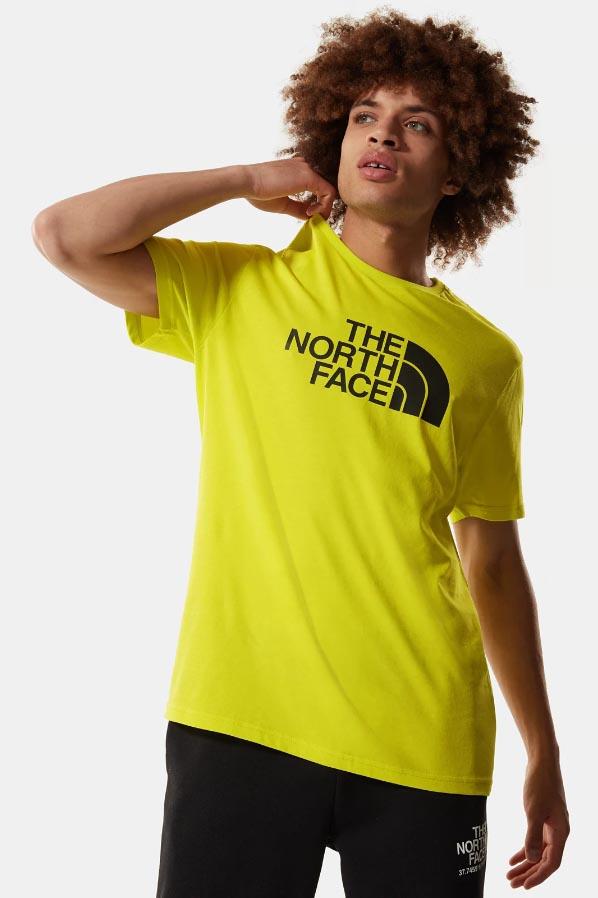 Camiseta de la marca The North Face Amarillo