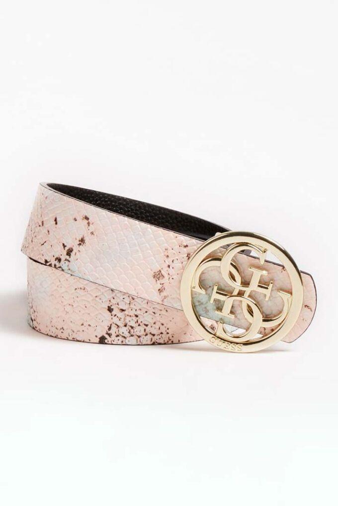 Cinturón de la marca Guess Acc Rosa