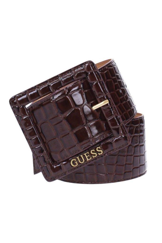 Cinturón de la marca Guess Acc Marron