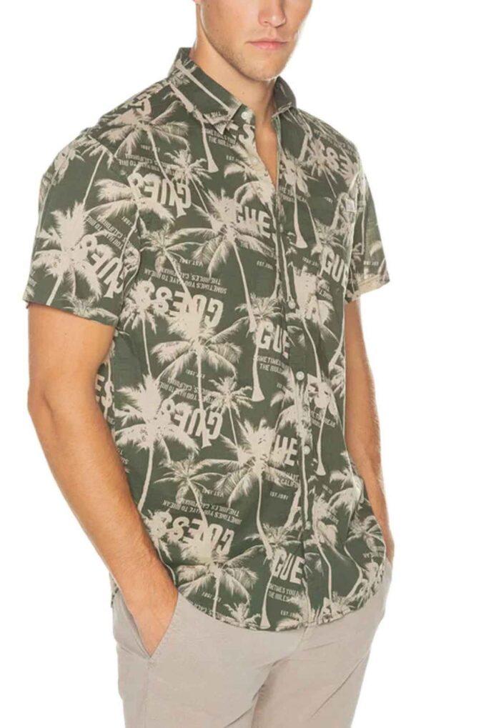 Camisa de la marca Guess Jeans Verde
