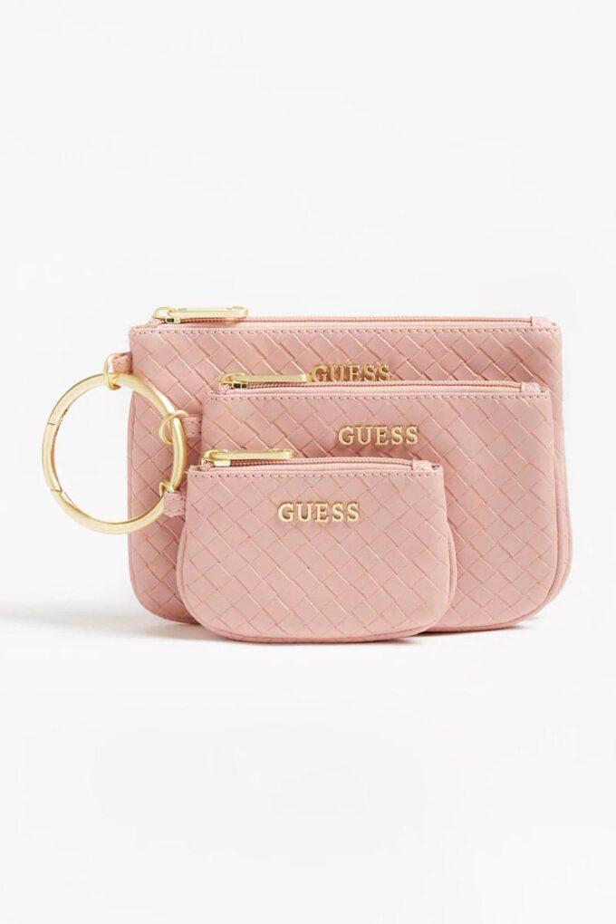 Neceser de la marca Guess Acc Rosa
