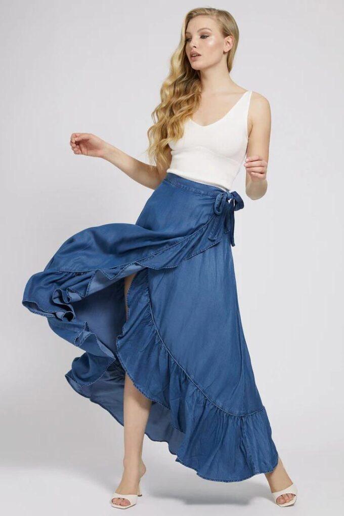 Falda de la marca Guess Jeans Jeans