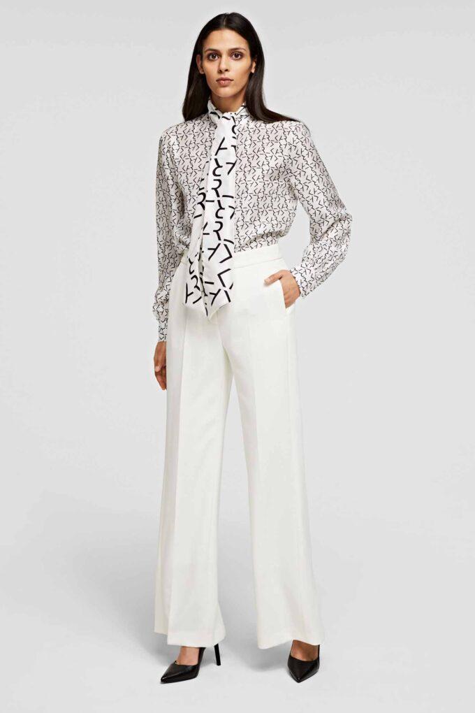 Pantalón de la marca Karl Lagerfeld Blanco