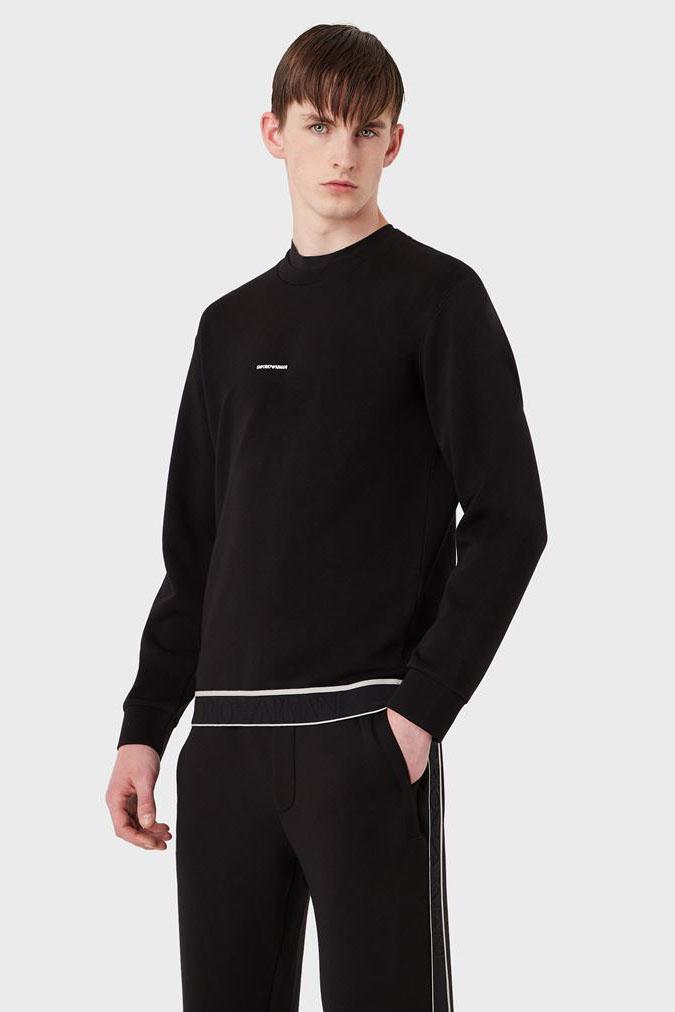 Suéter de la marca Emporio Armani Negro