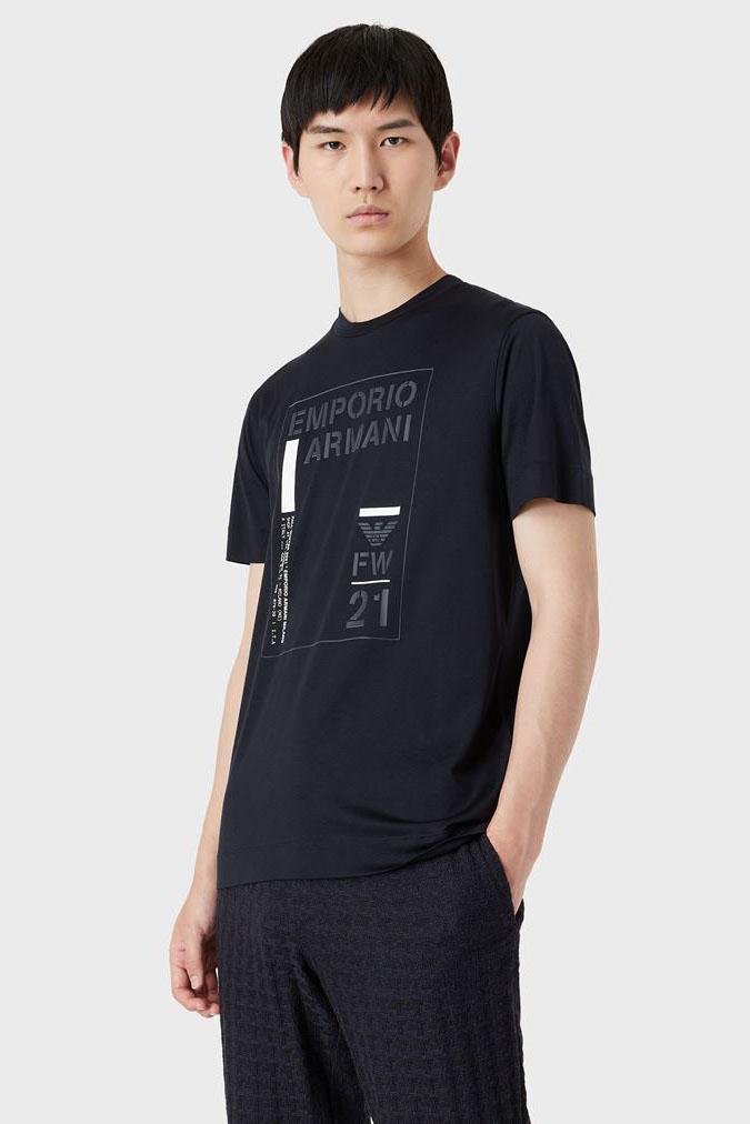 Camiseta de la marca Emporio Armani Azul Marino