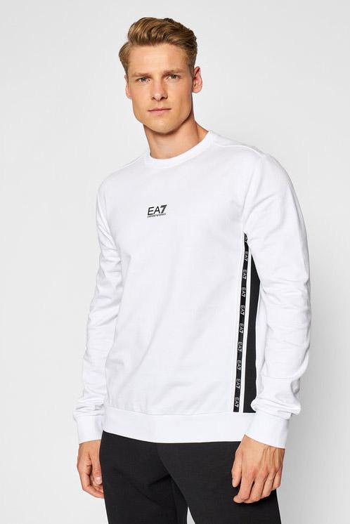 Felpa de la marca EA7 Blanco