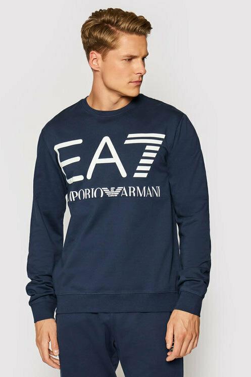 Felpa de la marca EA7 Azul Marino