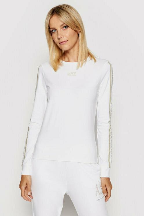 Camiseta de la marca EA7 Blanco