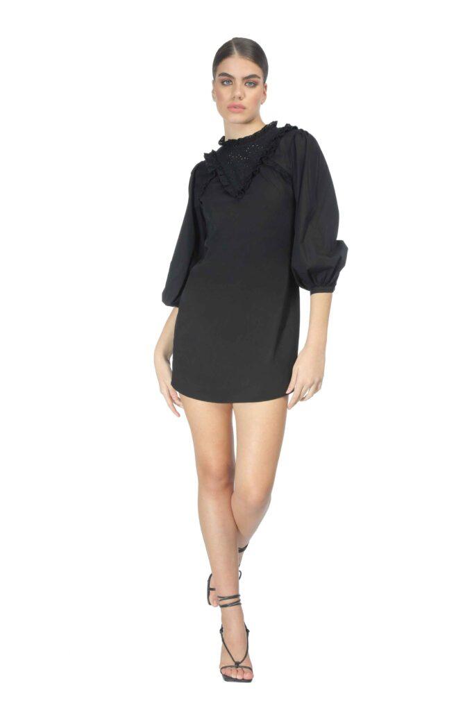 Vestido de la marca QGuapa Milano Negro