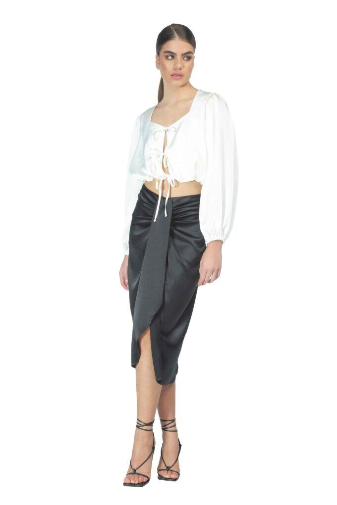 Falda de la marca QGuapa Milano Negro