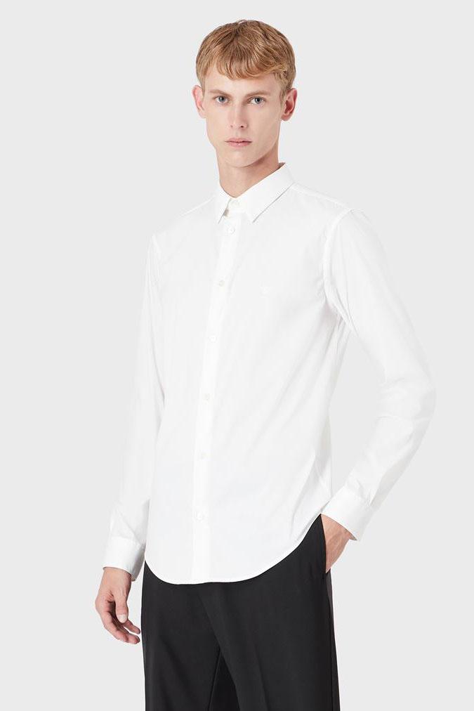 Camisa de la marca Emporio Armani Blanco