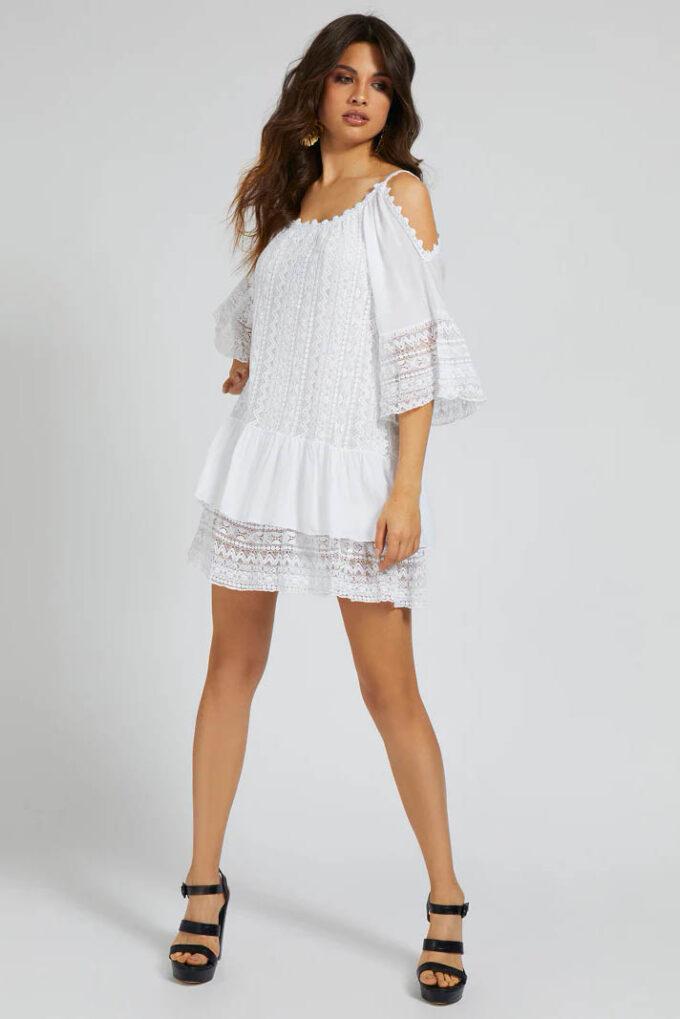 Vestido de la marca Guess Jeans Blanco