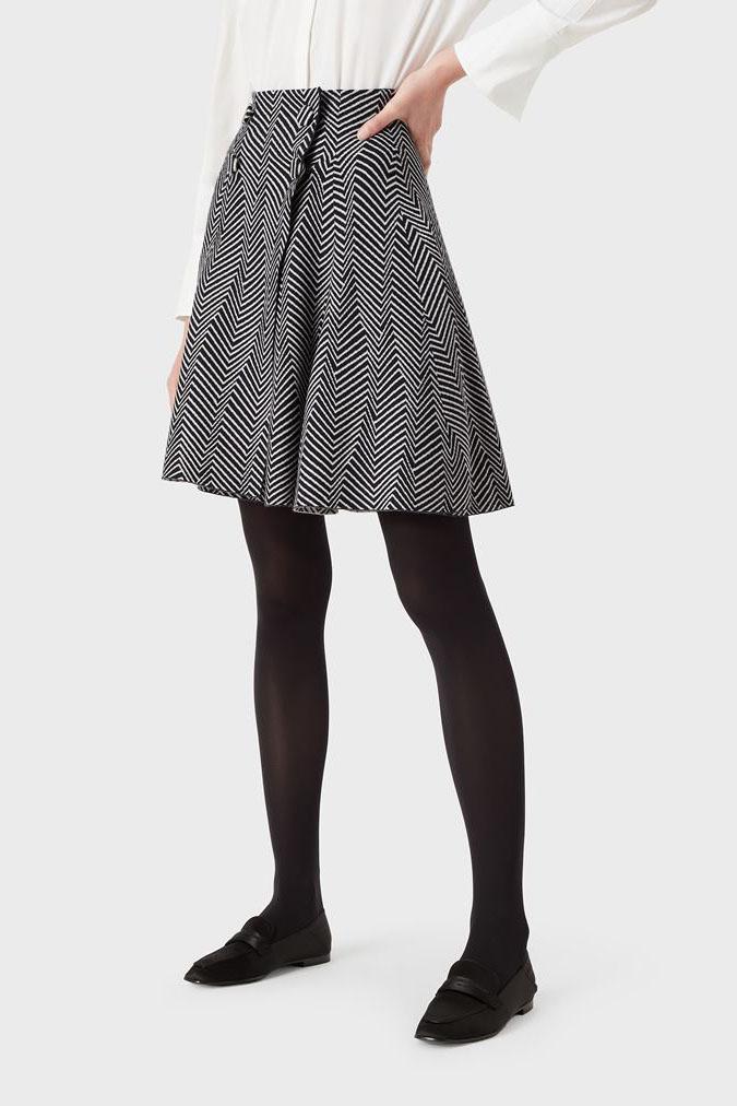 Falda de la marca Emporio Armani Azul Marino