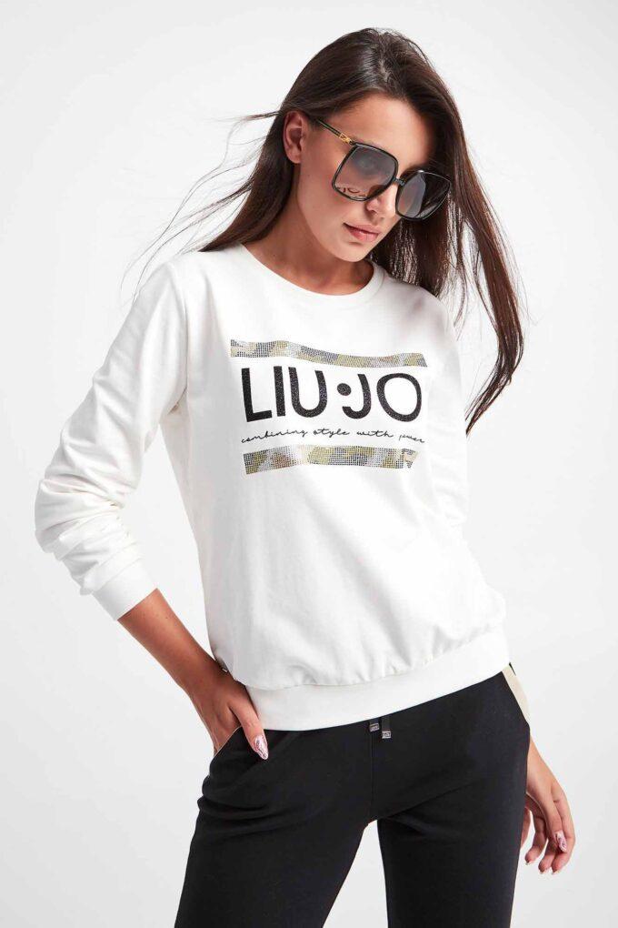 Felpa de la marca Liu·Jo Blanco