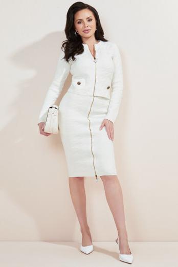 Falda de la marca Marciano Blanco