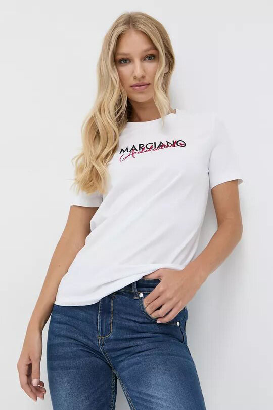 Camiseta de la marca Marciano Blanco