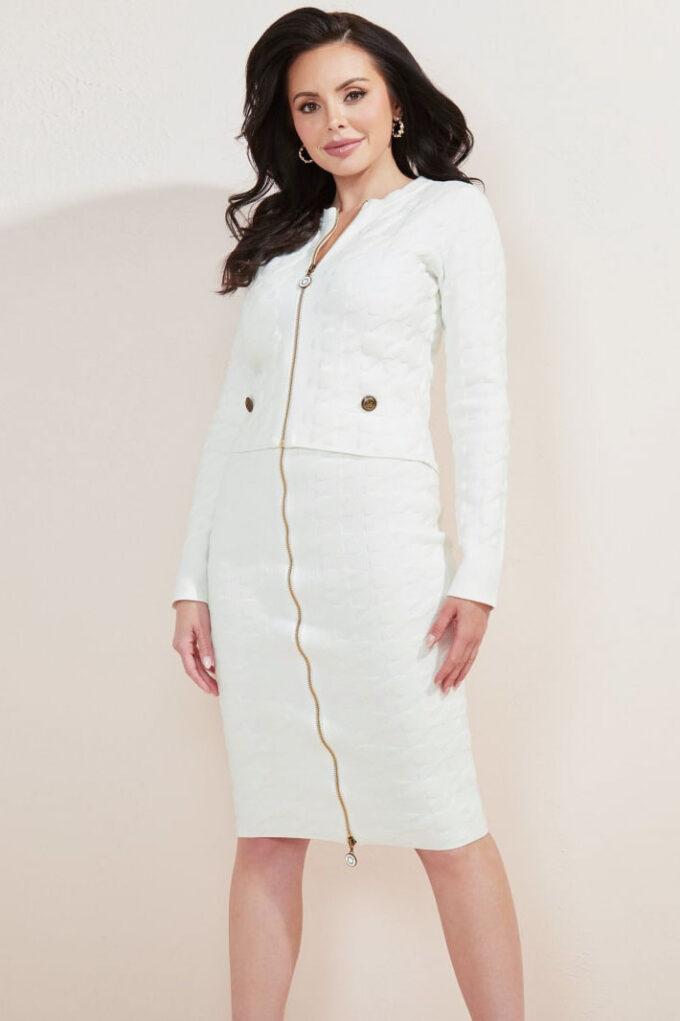 Chaqueta de la marca Marciano Blanco