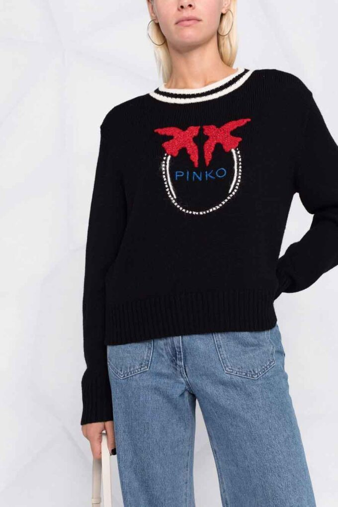Suéter de la marca Pinko Negro