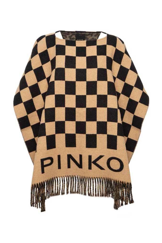 Poncho de la marca Pinko Camel
