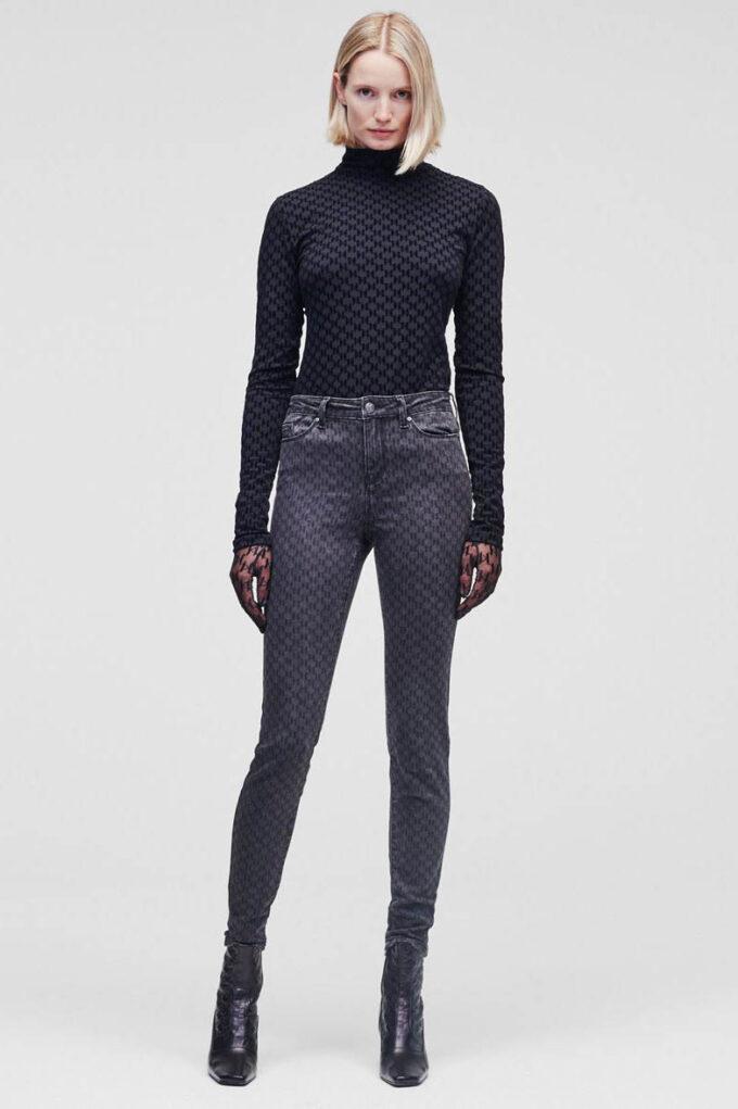 Pantalón de la marca Karl Lagerfeld Gris