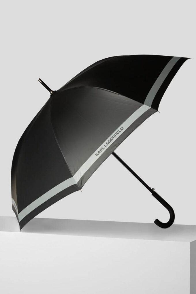 Paraguas de la marca Karl Lagerfeld Acc Negro