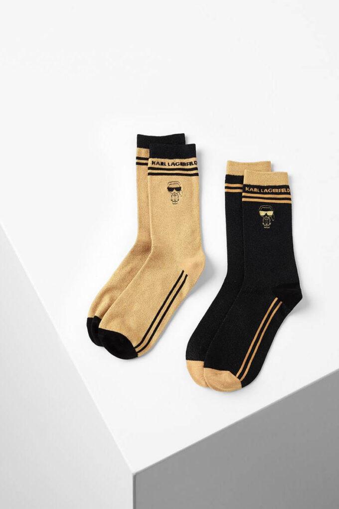 Calcetines de la marca Karl Lagerfeld Acc Negro