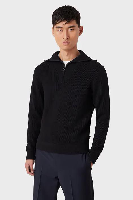 Suéter de la marca Emporio Armani Azul Marino