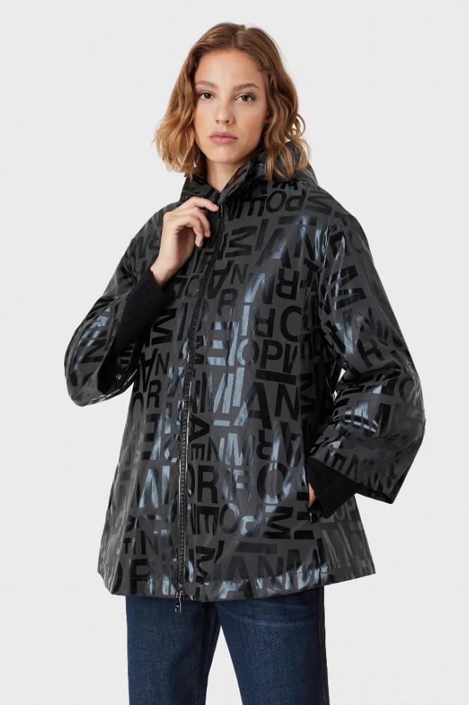 Abrigo de la marca Emporio Armani Negro
