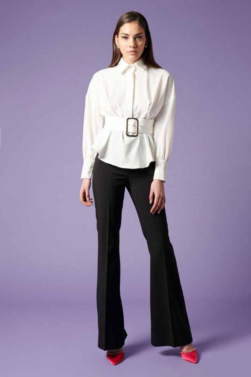 Camisa de la marca QGuapa Milano Blanco
