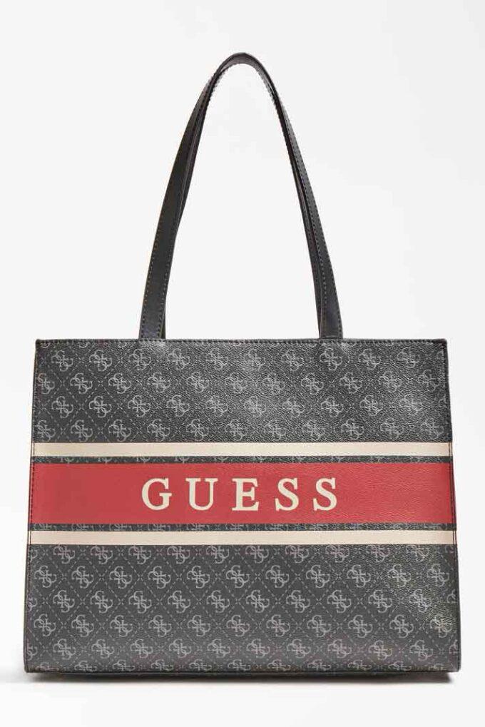 Bolso de la marca Guess Acc Rojo