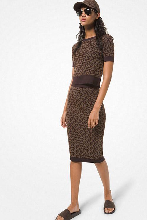 Falda de la marca Michael Kors Marrón