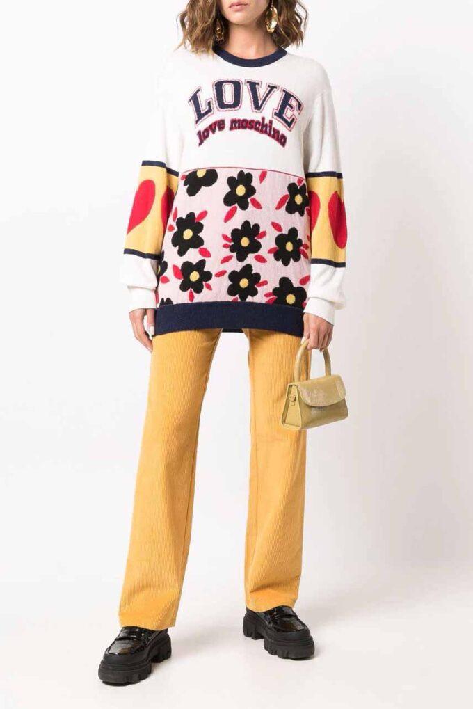 Suéter de la marca Love Moschino Estamp