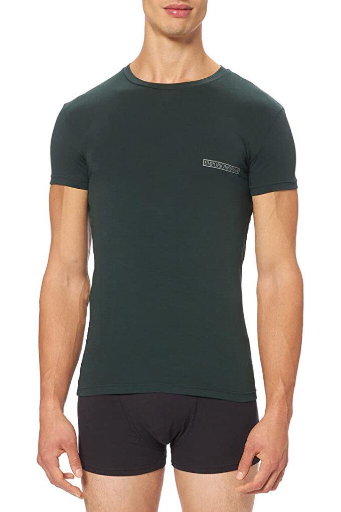 Camiseta de la marca EA Underwear Verde