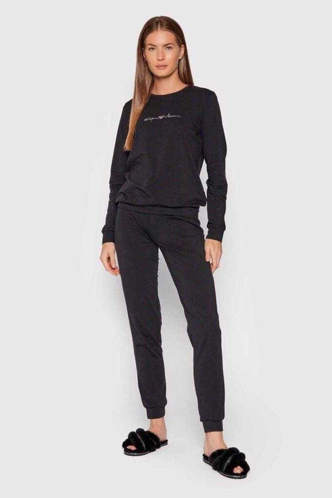 Pijama de la marca EA Underwear Negro
