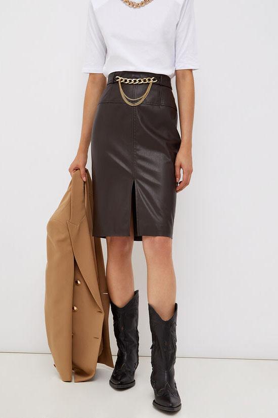 Falda de la marca Liu·Jo Marrón