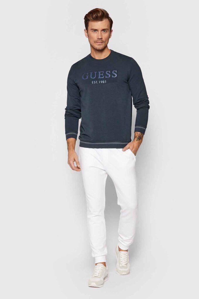 Felpa de la marca Guess Jeans Gris