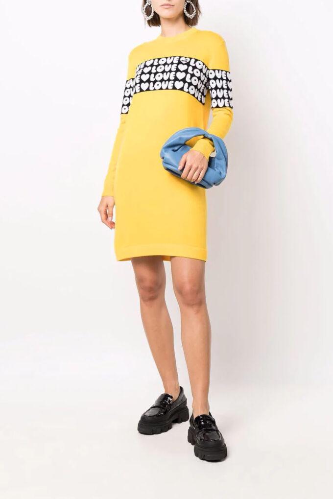 Suéter de la marca Love Moschino Amarillo